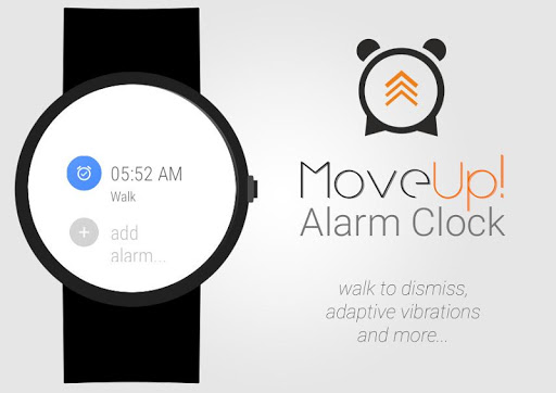 MoveUp Alarm Clock for Wear