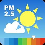 大気汚染予報(PM2.5と黄砂の予測)