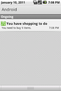You've got shopping+- screenshot thumbnail
