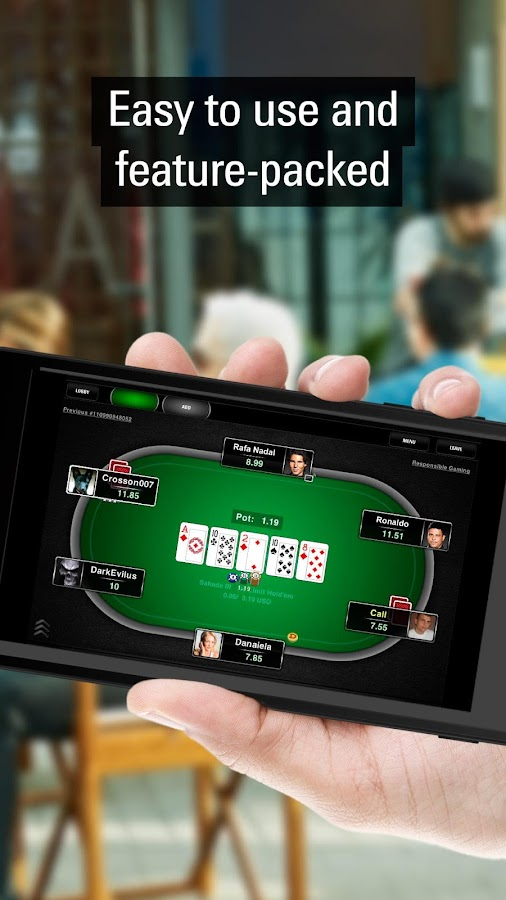 pokerstars real money mobile app
