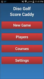 Golf Disc Golf Score Caddy