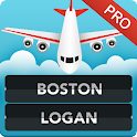 Boston Logan Airport Info Pro icon