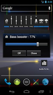 Audio Fx Widget - screenshot thumbnail