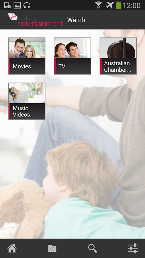 Virgin Australia Entertainment- screenshot