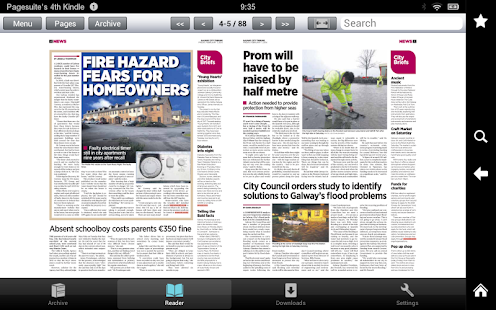 Galway City Tribune- screenshot thumbnail