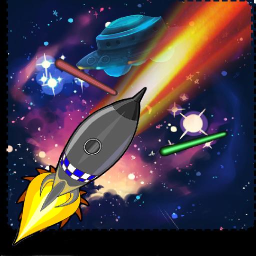 街機App|スペースシューティングのX:星の戦争 LOGO-3C達人阿輝的APP
