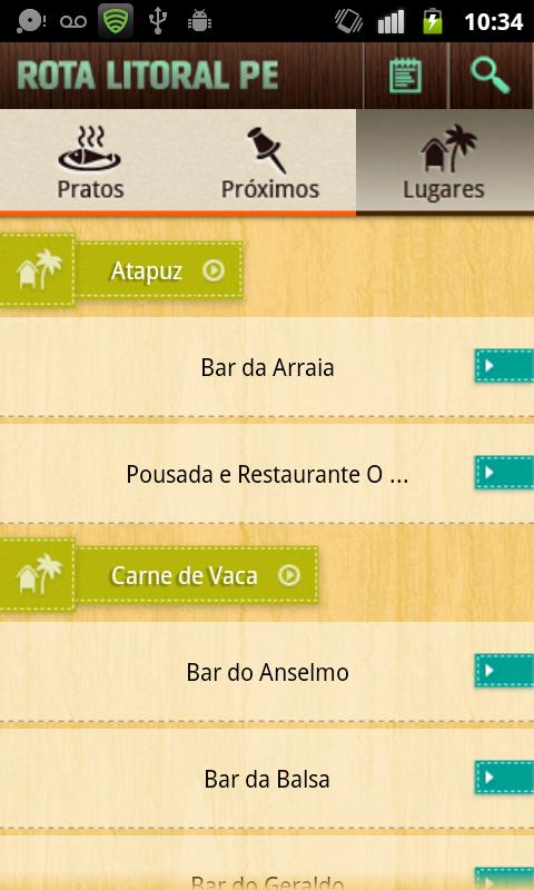 Rota Litoral PE - screenshot