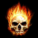 3D Skull Live Wallpaper icon
