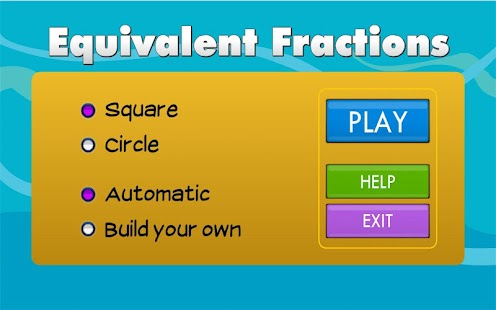 Equivalent Fractions- screenshot thumbnail