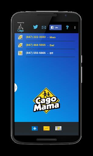 CagoMama-secure location share