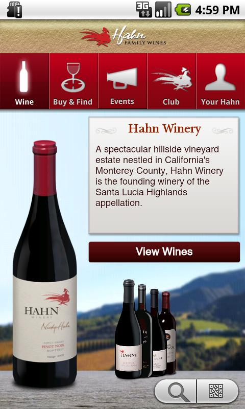 Hahn Family Wines - screenshot