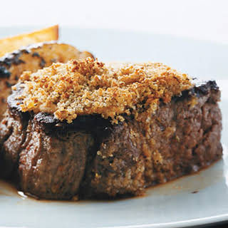 Filets Mignons with Orange Fennel Crust.