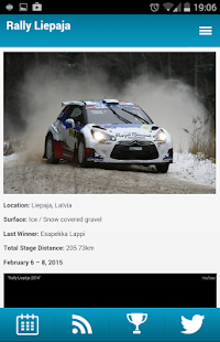 WRC - World Rally Calendar- screenshot thumbnail