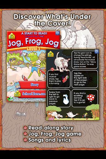 Jog Frog Jog - Start to Read
