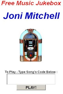 Joni Mitchell JukeBox - screenshot thumbnail