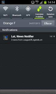 LoL News (with notifications) - screenshot thumbnail