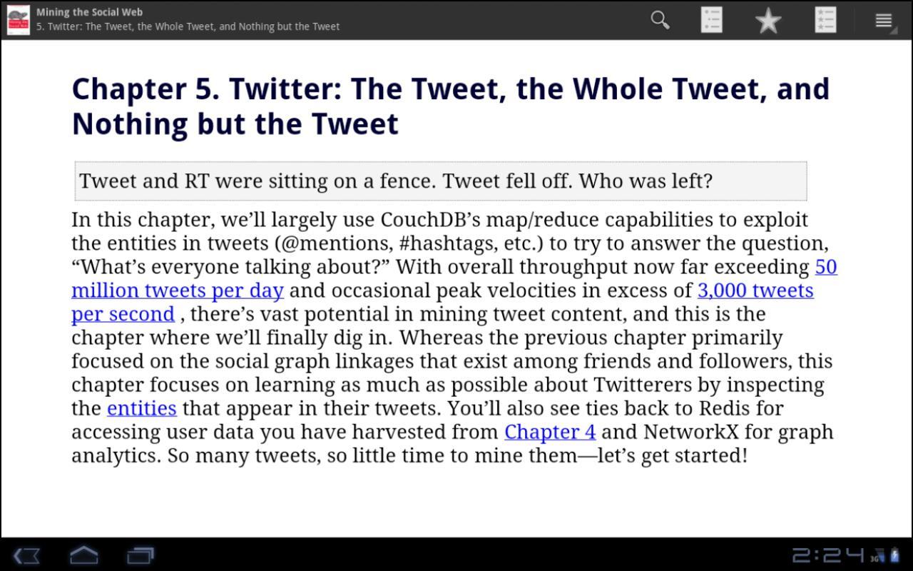eCarrel Nexus tech books- screenshot