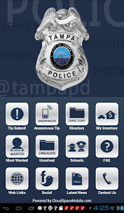 TampaPD Mobile- screenshot thumbnail