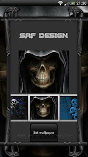Next Launcher Skull Theme- screenshot thumbnail