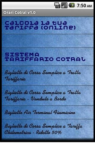 Orari Cotral (Bus Lazio)- screenshot