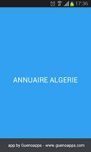 ANNUAIRE ALGÉRIE Screenshot 1