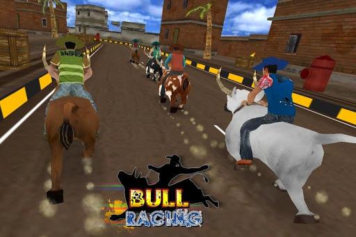 bull racing 3D Game