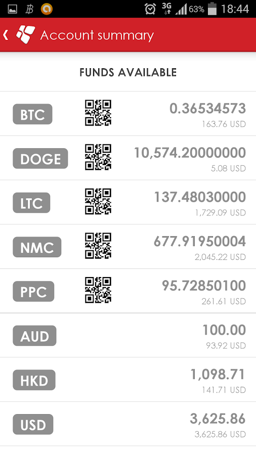 ANX Vault: Your Bitcoin Wallet- screenshot