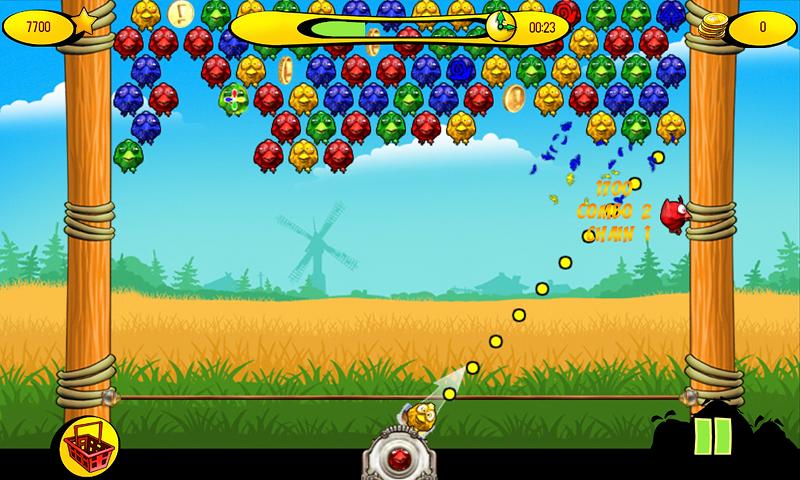 Birds On A Wire: Match 3 - screenshot
