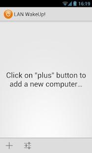 LAN WakeUp! - screenshot thumbnail