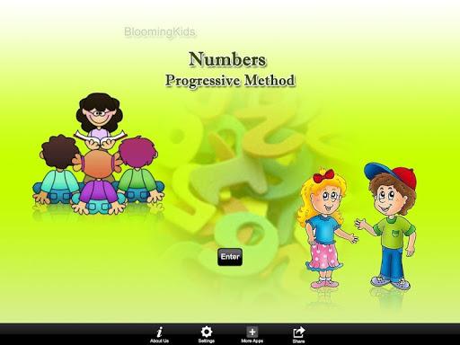 Numbers Progressive Method
