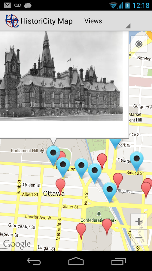 HistoriCity Ottawa- screenshot