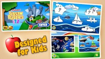 Screenshot of Transport Jigsaw Puzzles HD