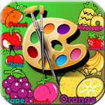 Baby Coloring Book Fruit