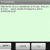 TxTransform