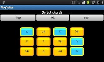 Screenshot of Play Guitar