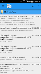 OlMail Reader and Exporter- screenshot thumbnail