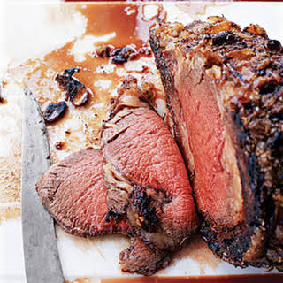 Slow-Roasted Roast Beef.