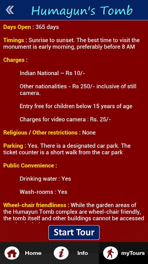 mytour india- screenshot