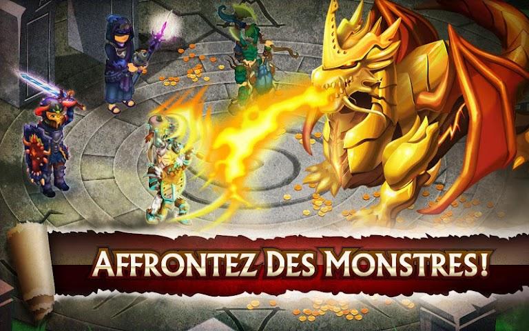 Screenshot 1 Knights & Dragons - Action RPG