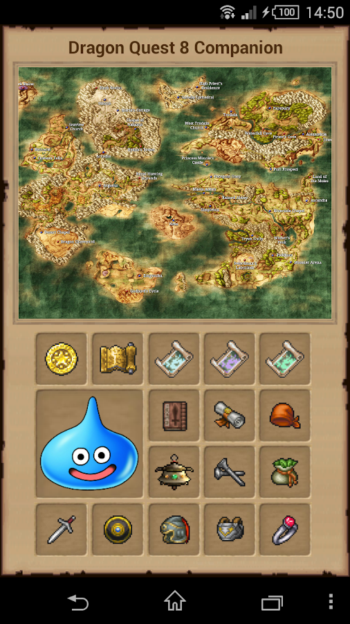 Companion Guide for DQ8- screenshot