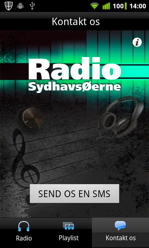 Radio SydhavsØerne- screenshot