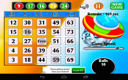 Universe Bingo Planet Free Gam