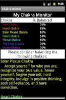 Screenshot of Chakra Doctor