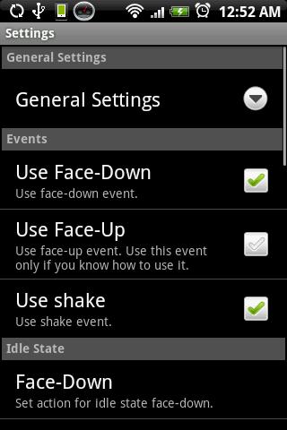 Flip 'n Shake PRO - screenshot