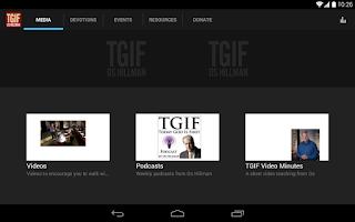 Screenshot of TGIF Os Hillman
