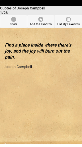 Quotes of Joseph Campbell