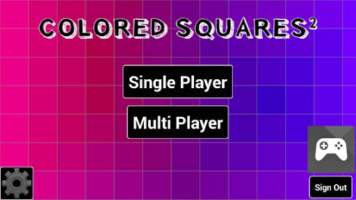 Colored Squares Squared