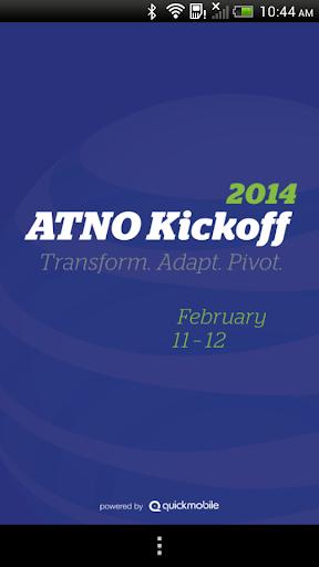 ATNO Kickoff 2014