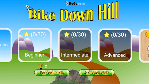 Bike Down Hill