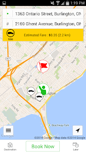 Burlington Taxi- screenshot thumbnail